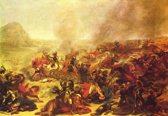 Антуан-Жан Гро. Битва при Назарете