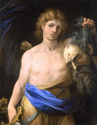 Чезари Джузеппе (Кавалер д'Арпино). Давид с головой Голиафа.