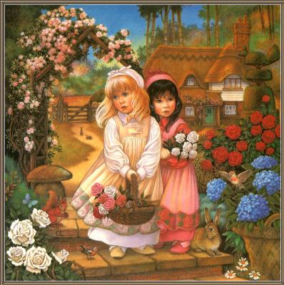 Кэрол Лоусон. Белоснежка и красная роза