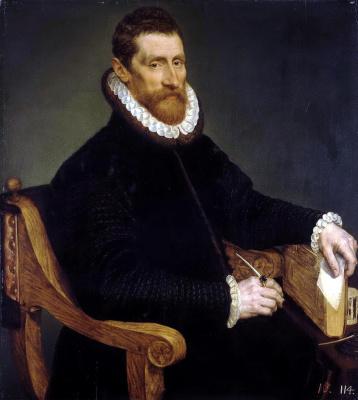 Франс Старший Поурбус. Мужской портрет