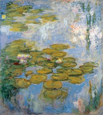 Клод Моне. Водяные лилии
