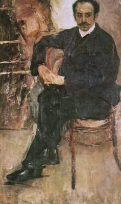Fedor Grigorievich Krichevsky. Portrait of the artist Vartanes Akhikyan