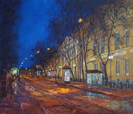 Alexander Panyukov. Pokrovsky Boulevard