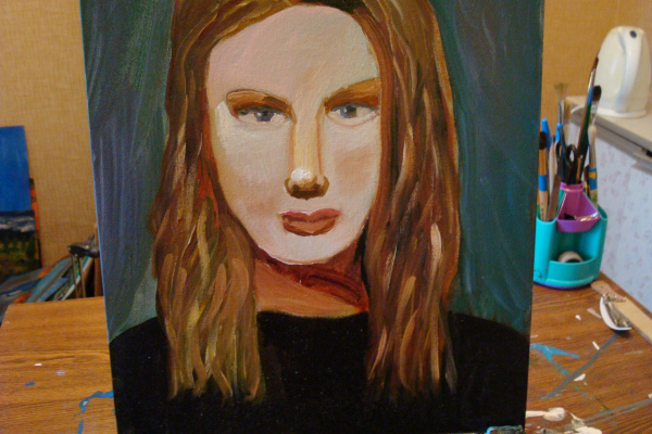 Гульнара Агзамова. Student portrait