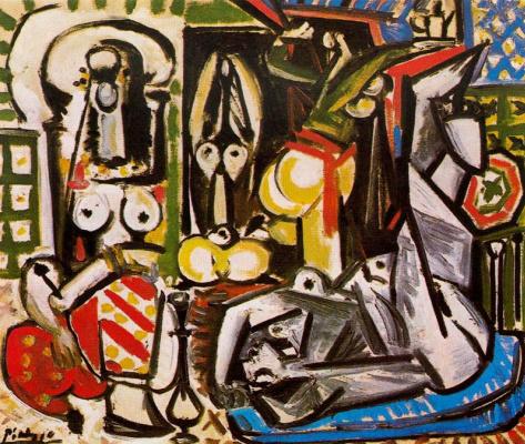 Pablo Picasso. The women of Algiers. Version D