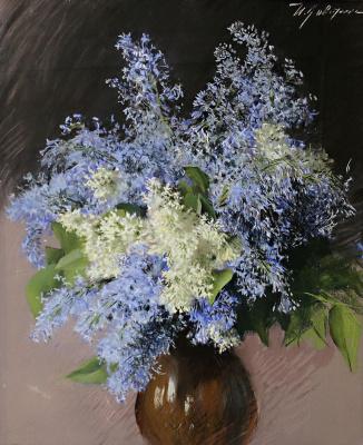 Isaac Levitan. Lilac