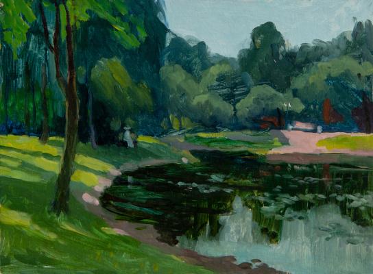 Tanika Yezhova. Pond