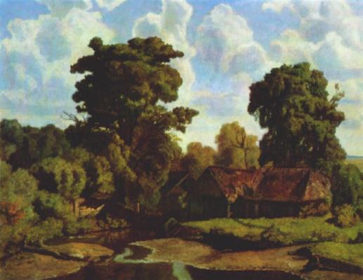Nikolay Petrovich Krymov. Mill