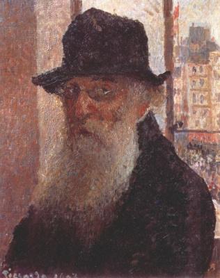 Камиль Писсарро. Автопортрет