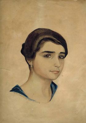 Сергей Юрьевич Судейкин. Эсфирь. 1920