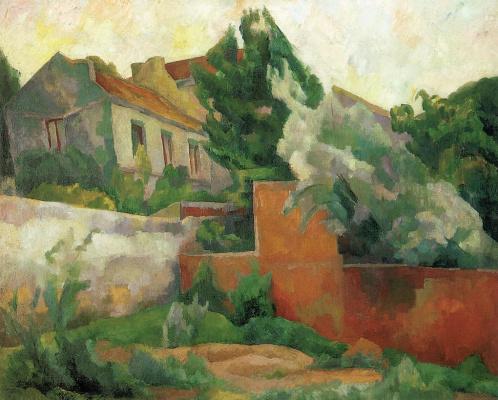 Диего Мария Ривера. Окрестности  Парижа