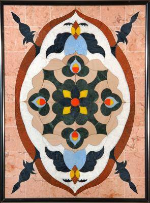 Boris Lazarevich Oshkukov. Arabia, Florentine mosaic