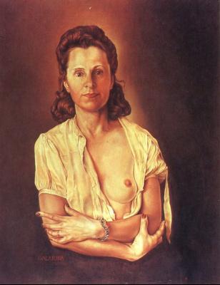 Salvador Dali. Galarina