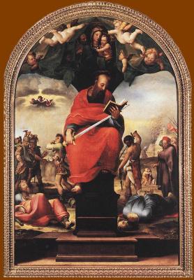 Доменико Беккафуми. Святой Павел