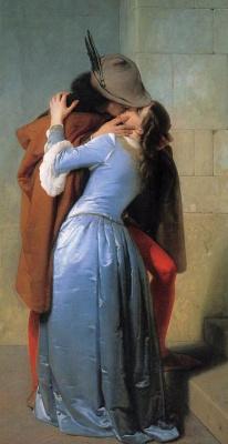 Франческо Айец. Поцелуй (фрагмент)