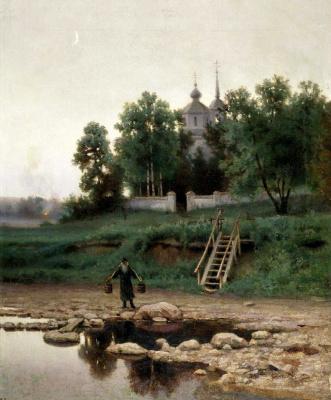 Efim Efimovich Volkov. The monastery