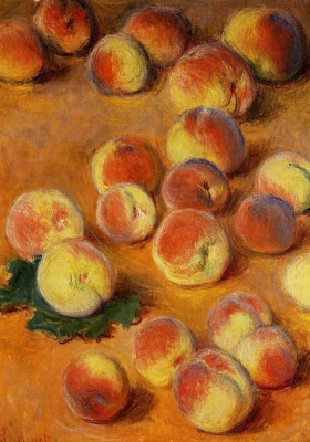 Claude Monet. Peaches