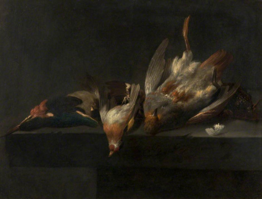 Willem van Aelst. Still life with game