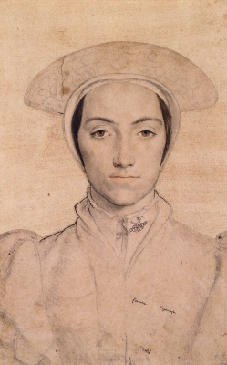 Hans Holbein The Younger. Portrait of an unknown woman