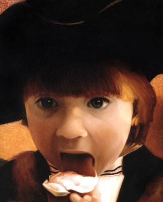 Ольга Акаси. Kid with Ice-cream