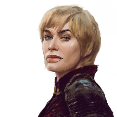 Faith Moore. Portraits of characters from the Game of Thrones