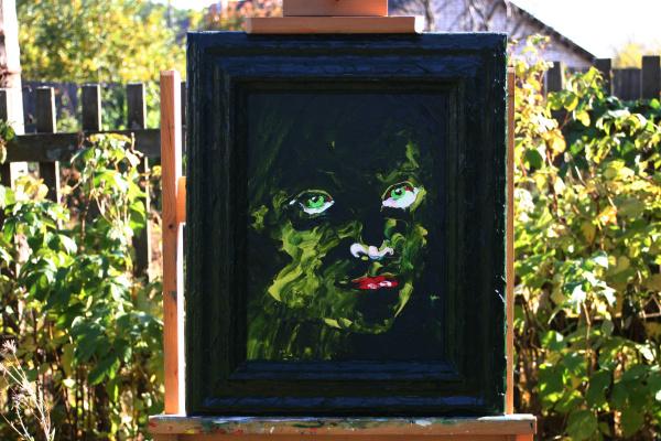 Alexander Ocher Kandinsky-DAE. Longing green