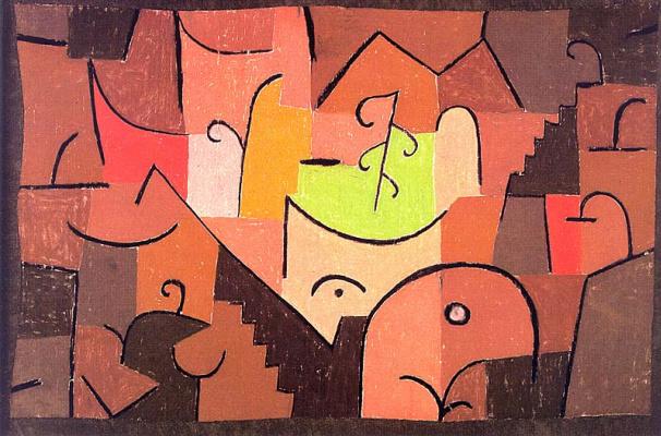 Paul Klee. Scene