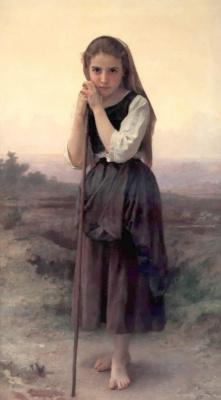 William-Adolphe Bouguereau. Cowgirl