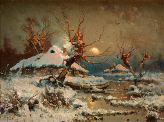 Julius Klever. Winter sun