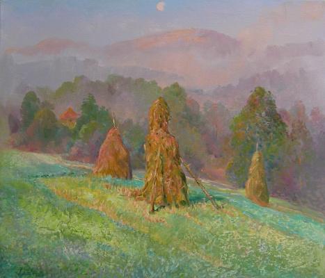 Александр Алексеевич Дубровский. Summer fogs Painting by Oleksandr Dubrovskyy