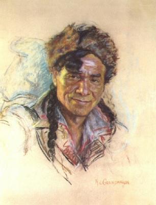 Николас де Гранмезон. Индейский портрет 55
