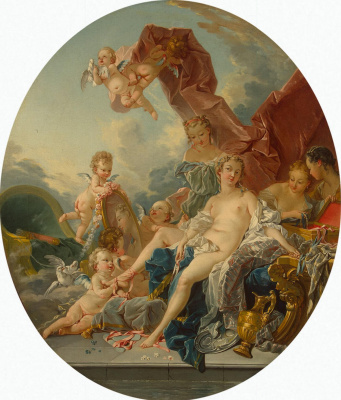 Francois Boucher. The Toilet Of Venus