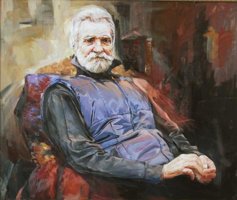 Владимир Романов. Портрет художника В.Бакумова