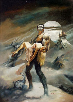 Boris Vallejo. Monster