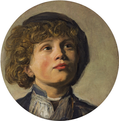 France Hals. The head of a boy / Portrait of a boy