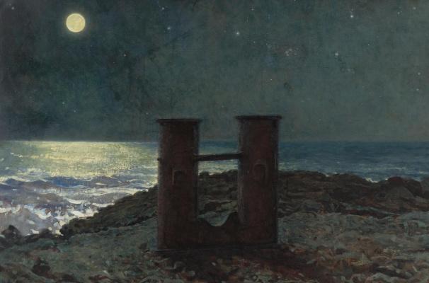 Джейми Уайет. Лунная ночь