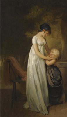 Louis-Leopold Boi. Maternal weasel