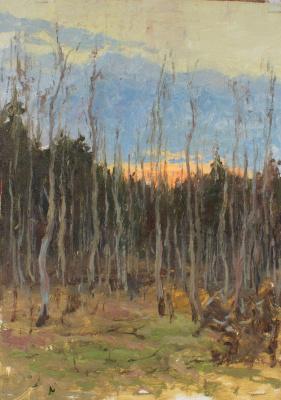 Igor Igorevich Krieger. Late spring twilight
