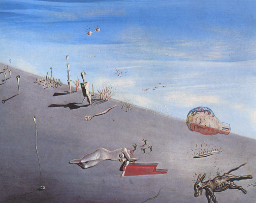Salvador Dali. Honey is sweeter than blood