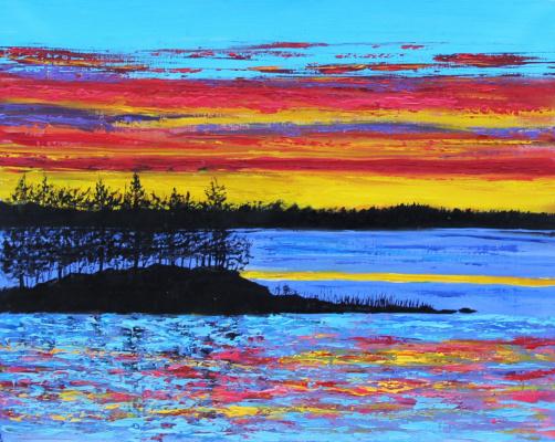 Андрей Горба. Karelia water and sky