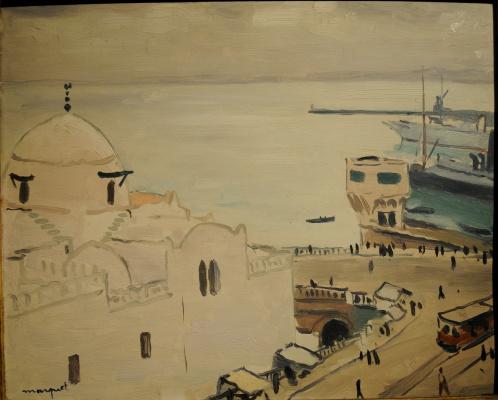 Albert Marquet. Port