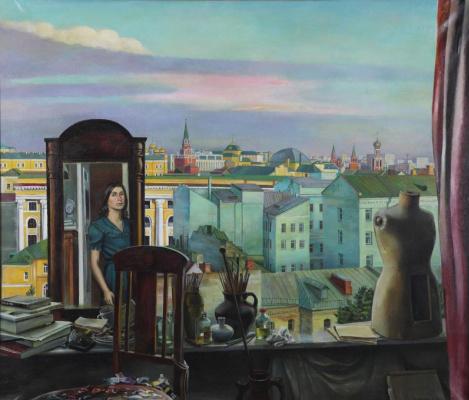 Tatyana Grigorievna Nazarenko. Big window