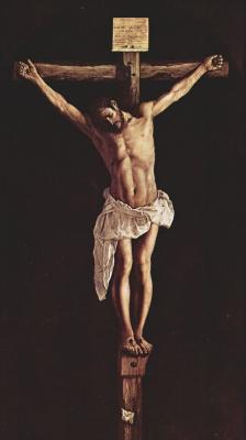 Франсиско де Сурбаран. Христос на кресте