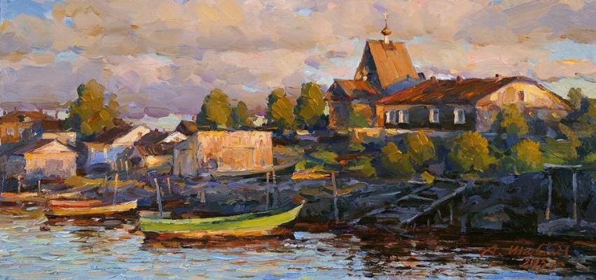 Alexander Victorovich Shevelyov. In Kemi