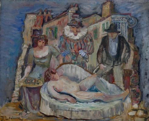 Иосиф Михайлович Левин. Театр