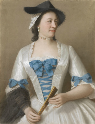 Jean-Etienne Liotard. Lady Tirel