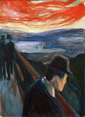 Edvard Munch. Despair