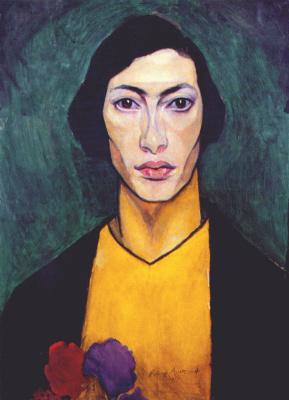 Nathan Isaevich Altman. Self-portrait