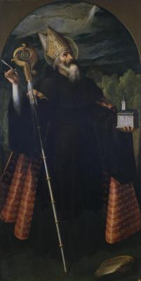 Хуан Пантоха де ла Крус. Св. Августин