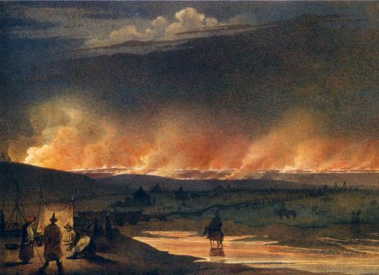 Taras Grigorievich Shevchenko. Fire in the steppe